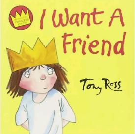 I Want A Friend Little Princess Children Kids Picture Book Paperback