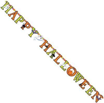 Festone Lettere Happy Halloween Fantasmi