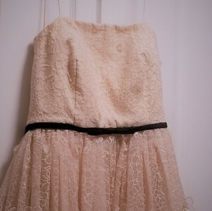 Ball Gown - Baby Pink Lace Dress