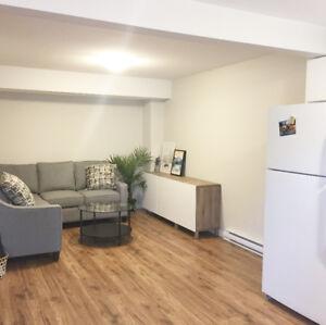 Newer 1 Bed/1Bath Basement Suite