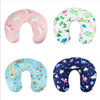 Minky Nursing Pillow Cover Slipcover Breastfeeding for Newborn Baby