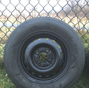 **4 rims/jantes in good shape** 14in