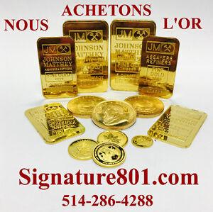 ACHETONS L'OR,  Achat D'or, ARGENT, PLATINE, ACHETONS DIAMANTS