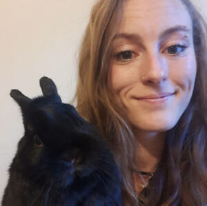 Female with bunny looking for a room for May 1st - $600