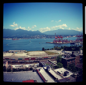 2 bed 2 bathrooms @ Woodwards Building Great View