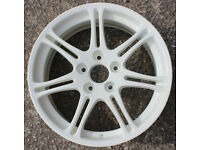 Honda Civic Type R EP3 alloy wheels fully refurbished to white - 7J X 17, offset: 45