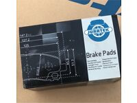 VW POLO FRONT BRAKE PADS NEW 2000-2008 1.2 1.4 1.9