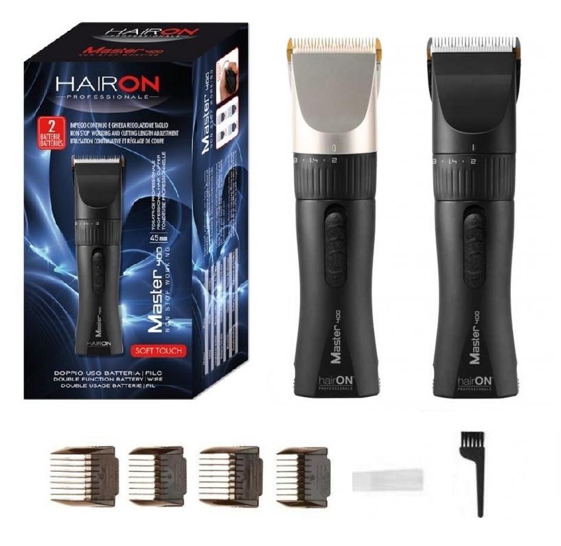 Tosatrice Professionale hairON Master 400 tagliacapelli