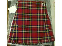 Kilt - Royal Stewart tartan - Brand New