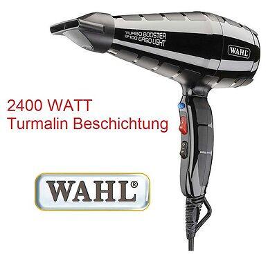 Wahl Profi Haarföhn, starke 2400W, Salon Haarfön, Haartrockner, Fön.  42357 - Turmalin Fön