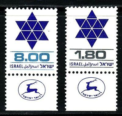 ISRAEL 1979 739/0 2v.