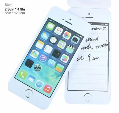 Funny Novelty Cell Phone Sticky Note Pad Memo Office School Text Message Mobile