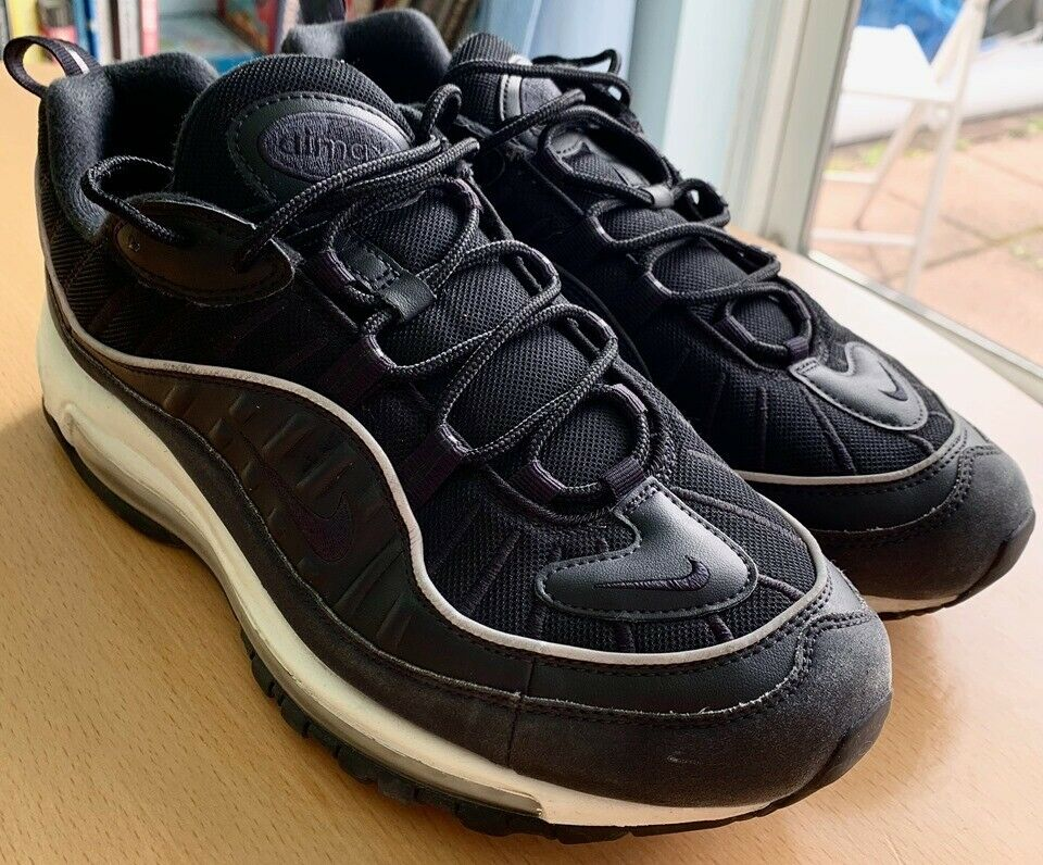 new styles 168db 47c28 Air Max 98s, black, UK 9.5 / US 10.5 | in Norbury, London | Gumtree