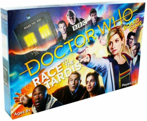 BBC+Doctor+Dr+Who+Childrens+Kids+Family+Board+Game+-+Race+To+The+TARDIS+