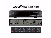ZGEMMA CABLE BOX - H2 H.2H H5 H5.2TC BRAND NEW & BOXED - FROM £65 - NO GIFT - NO KODI - NO ANDROID