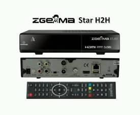 Zgemma h2h dual core cable box plug n play