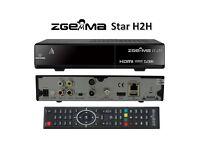 ZGEMMA H2H CABLE BOX FTA SET TOP BOX FREE WIFI ADAPTER