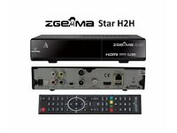 Genuine Zgemma H2H w/ 12m cable sat gift warranty 12 month H.2H 1 year VM combo twin tuner box