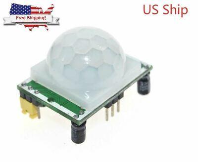 Hc-sr501 Pir Ir Passive Infrared Motion Detector Sensor Module Arduino Diy