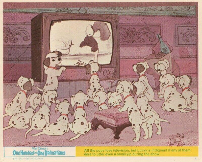 101 Dalmatians lobby card print - Walt Disney - 8 x 10 inches (c) - 8 x 10 inch