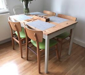 Dining table and 4 chairs - £120