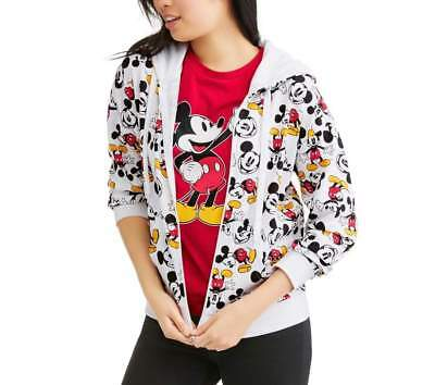 DISNEY MICKEY MOUSE ZIP UP SWEATER AND SHIRT SIZE S M L NEW! - Mickey Mouse Sweater