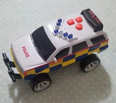 "EARLY LEARNING POLICE CAR VAN VEHICLE 6"" LONG NEEDS BATTERIES UNTESTED LIGHTS for sale  Shipping to Canada"