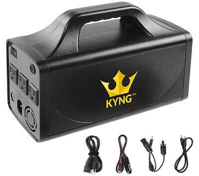 KYNG Solar Generator Portable Power Station 500W Solar Generator Lithium Battery