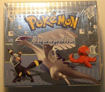 Pokémon Aquapolis Display Booster Box - Italiano - sealed - new - 36 Buste