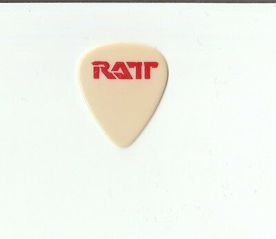 Ratt 1984 Out of The Cellar Robbin Crosby guitar pick