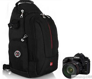 SWISS GEAR Sling Camera Case Shoulder Bag Backpack for NIKON, CANON,SONY, SLR