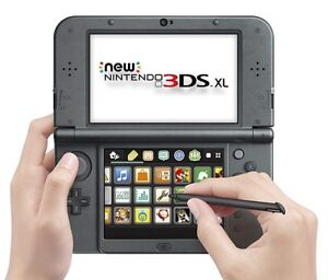 New Nintendo 3DS XL, stylus, microSD, Monster Hunter 4 game