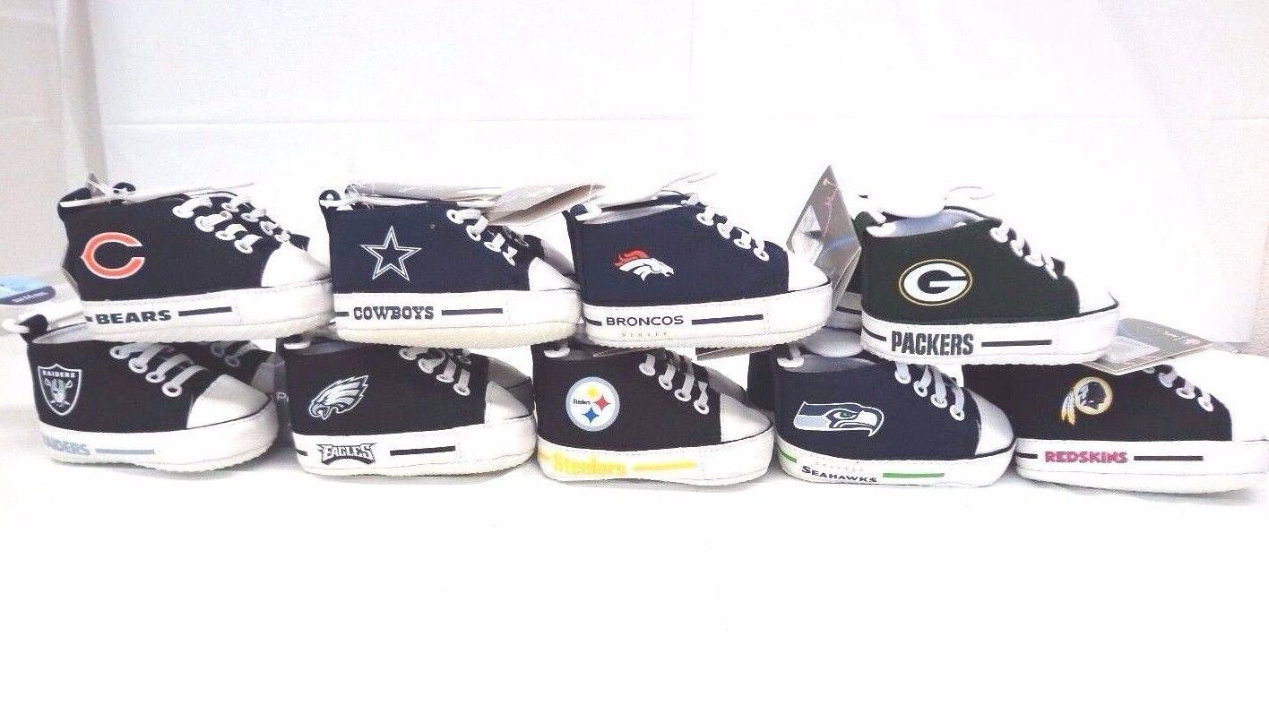 NFL Baby Fanatic 0-6 Months PreWalkers Baby Infant Shoes Sne