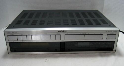 Revox Model B250 Stereo Integrated Amplifier==Nice!