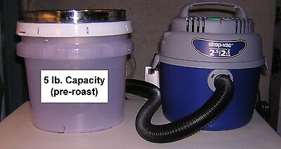 New 5 Lb Capacity Coolerdechaffer For Cooling Dechaffing Roasted Coffee Beans