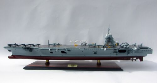 USS Gerald R. Ford CVN 78 Aircraft Carrier - Handcrafted Model Scale 1/350 NEW