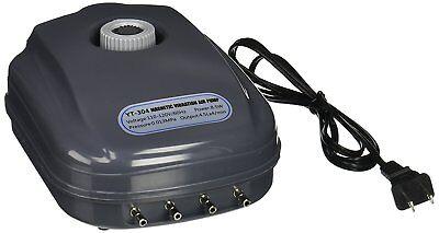 300 Aquarium Air Pump - 300 Gallon Adjustable Silent Air Pump Large Aquarium Fish Tank 4 outlet