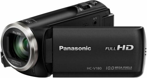 Panasonic HC-V180 Full HD Camcorder with 50x Stabilized Optical Zoom - Black