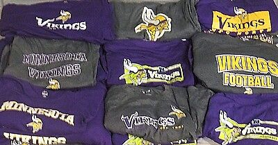 Minnesota Vikings Mens Big   Tall Xlt 6Xl 2 T Shirts    Mystery Shirt  Nfl A14