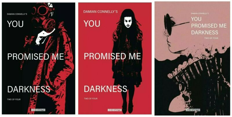 You Promised Me Darkness #2 A B C Variant Set Options Behemoth NM