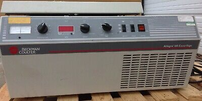 Beckman Coulter Allegra-6r Refrigerated Benchtop Centrifuge Wrotor Buckets