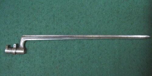 ORIGINAL SWISS SOCKET Model 1863 BAYONET for the 1867 PEABODY RIFLE