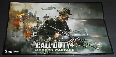 Call Of Duty 4  Modern Warfare 21  X 12  Poster  Brand New