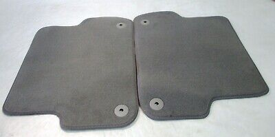 OEM 2002-2008 Audi A4 S4 Rear Gray Carpet Floor Mat Set 8E0864450A 8BB