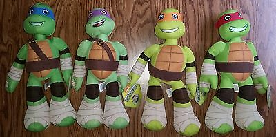 TMNT Ninja Turtles Plush Stuffed Animals Donatello Leonardo Raphael Michelangelo - Ninja Turtles Stuffed Animals