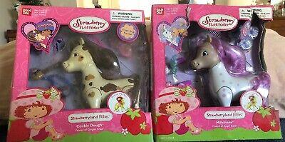 Bandai Strawberry Shortcake Milk Shake Horse Fillies Filly Milkshake , Cookie D Strawberry Shortcake Horses