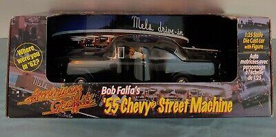 Revell ERTL AMERICAN GRAFFITI 55 Chevy Falfa's Car Black NEW RARE