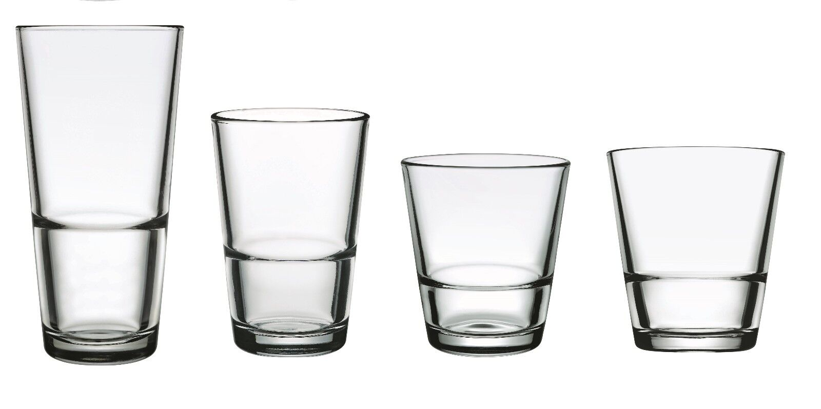 Occhiali, Serie di vetro East, ACQUA WHISKY O bicchiere highball a scelta,