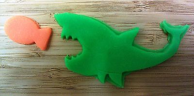 Shark Cookie Cutter, Gold Fish Cookie Cutter - Choice of Sizes - 3D Printed