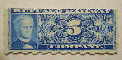 Unused old Buffalo Railway (New York) ticket - Main and Niagara Streets Niagara Street Buffalo
